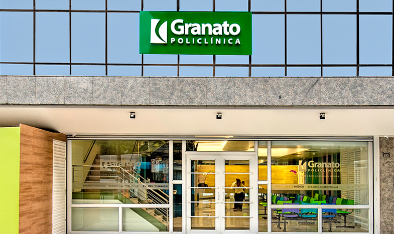 Granato é destaque como clínica popular