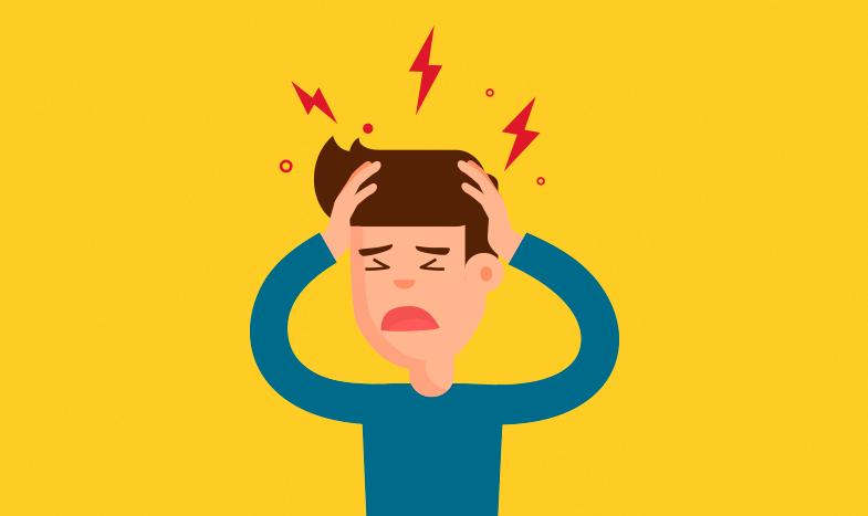 Dor de cabeça pode ser um sinal de AVC