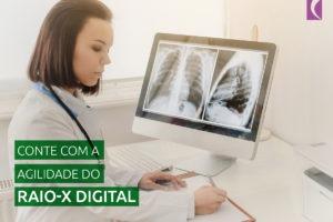 Qual é a diferença da radiologia digital para a radiologia analógica?