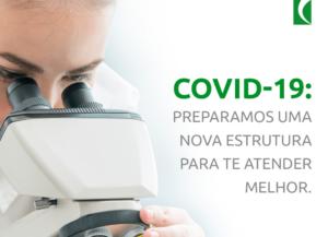 Covid-19: temos resultados em até 24h e testagem para anticorpos